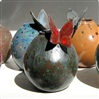 Sfera butterfly bud vases